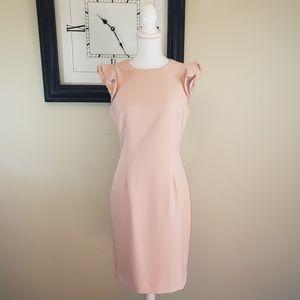 Antonio Melani Molly Crepe Ruffle dress